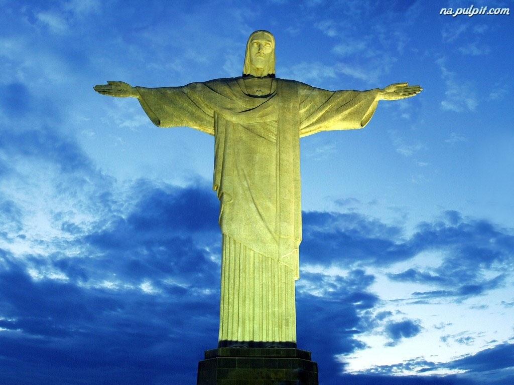 Rio De Janeiro, Cristo, Redentor Na Pulpit